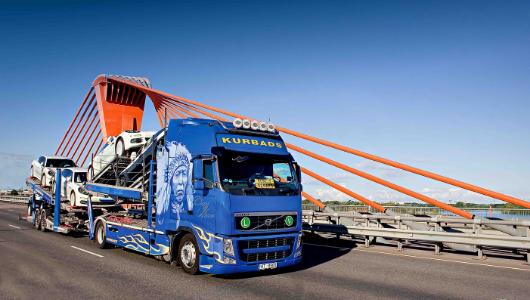 Automašīnu transportēšanas pakalpojumi