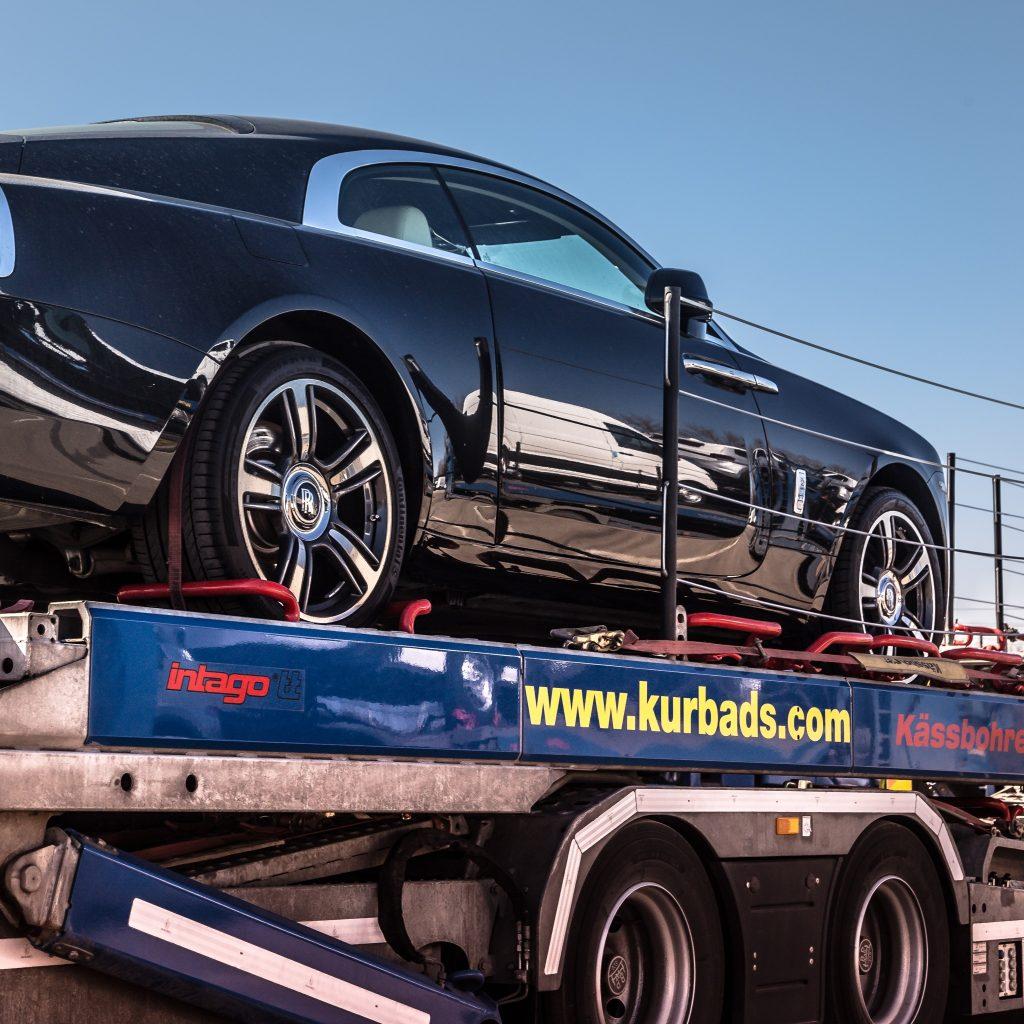 Versicherung Der Zu Transportierenden Autos KURBADS